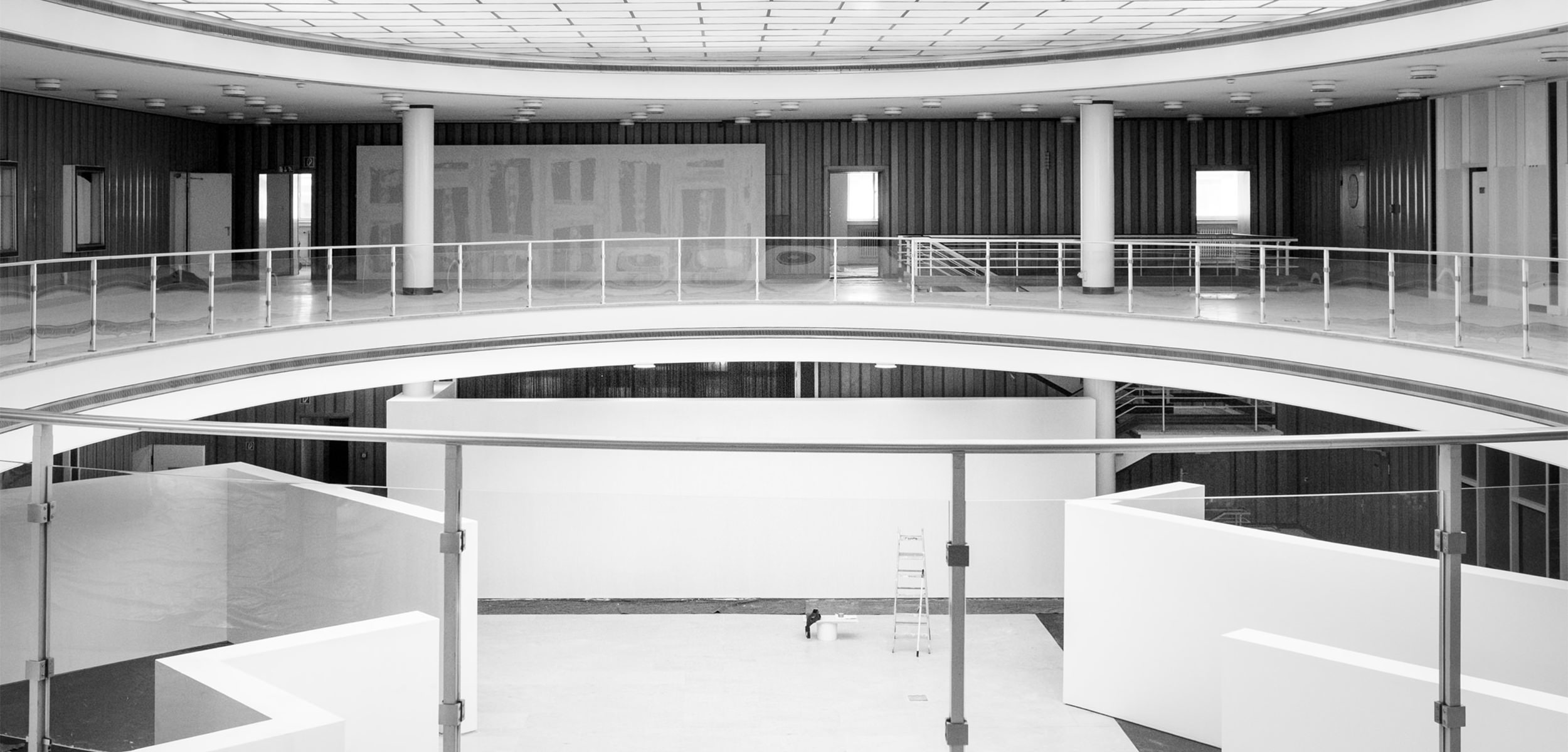 Die Bielefelder Schule Ausstellungsraum Alte Stadtbibliothek Jörn Strojny