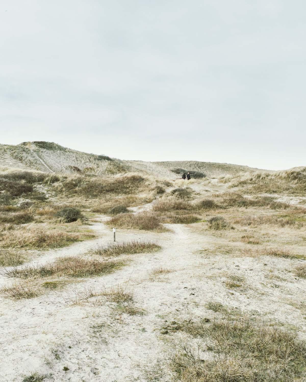 egmond aan zee landschaft dünen sand himmel niederlande urlaub