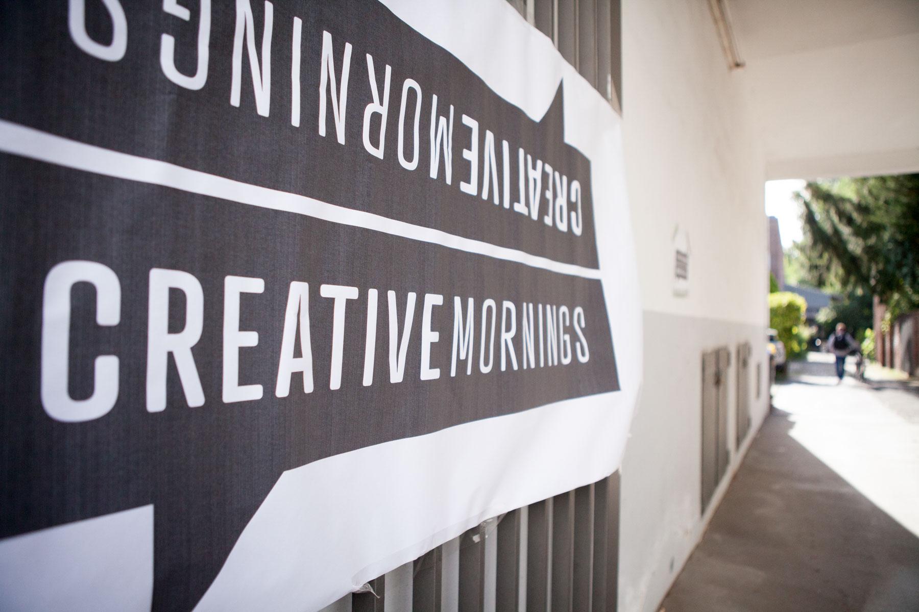 creative mornings köln vortrag frühstück enno digital ulli Killberth schild dom jörn strojny