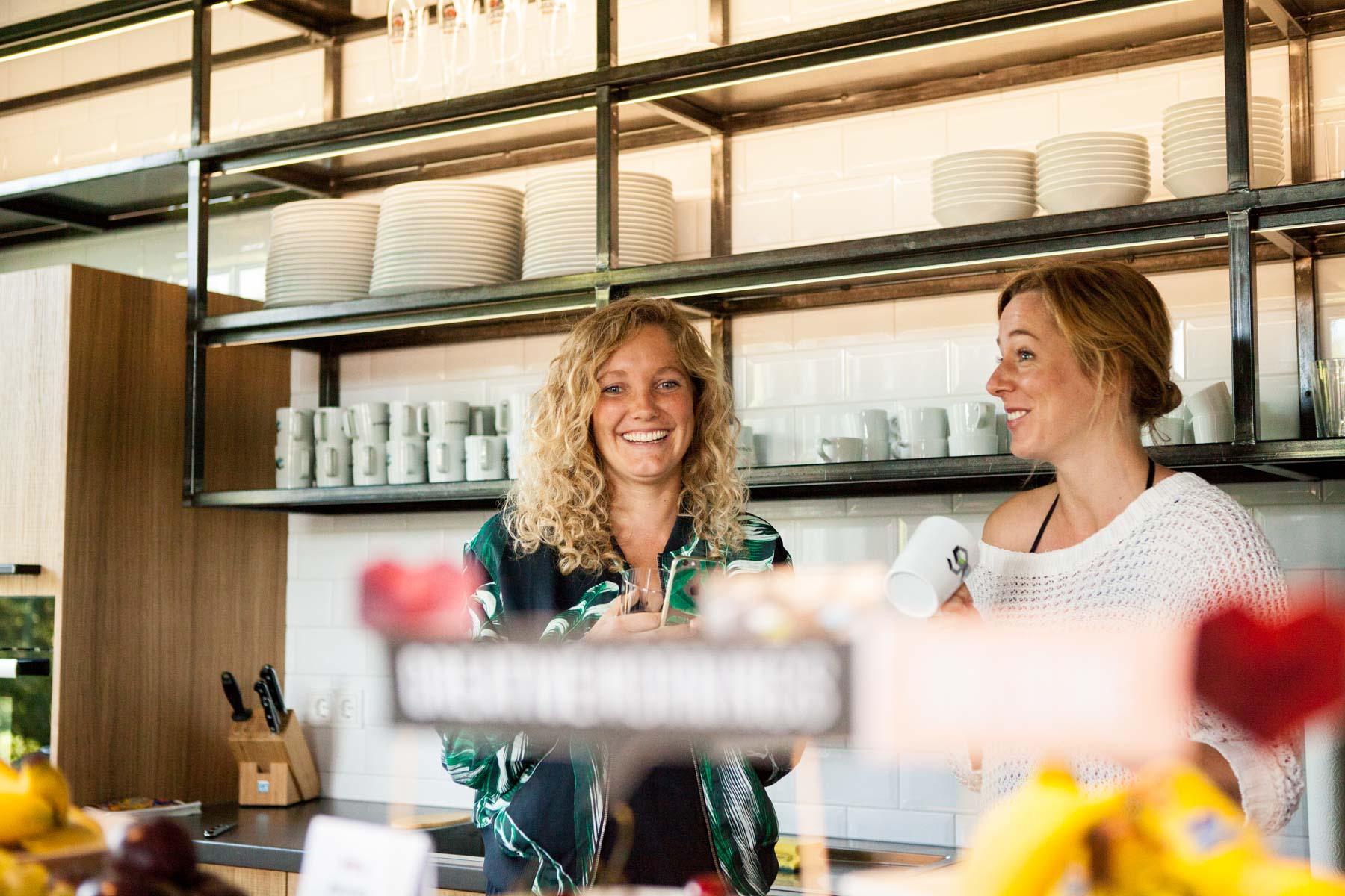 creative mornings köln vortrag frühstück grandceantrix Michaela Berghaus Veronica Garcia unterhaltung gespräch croissant jörn strojny