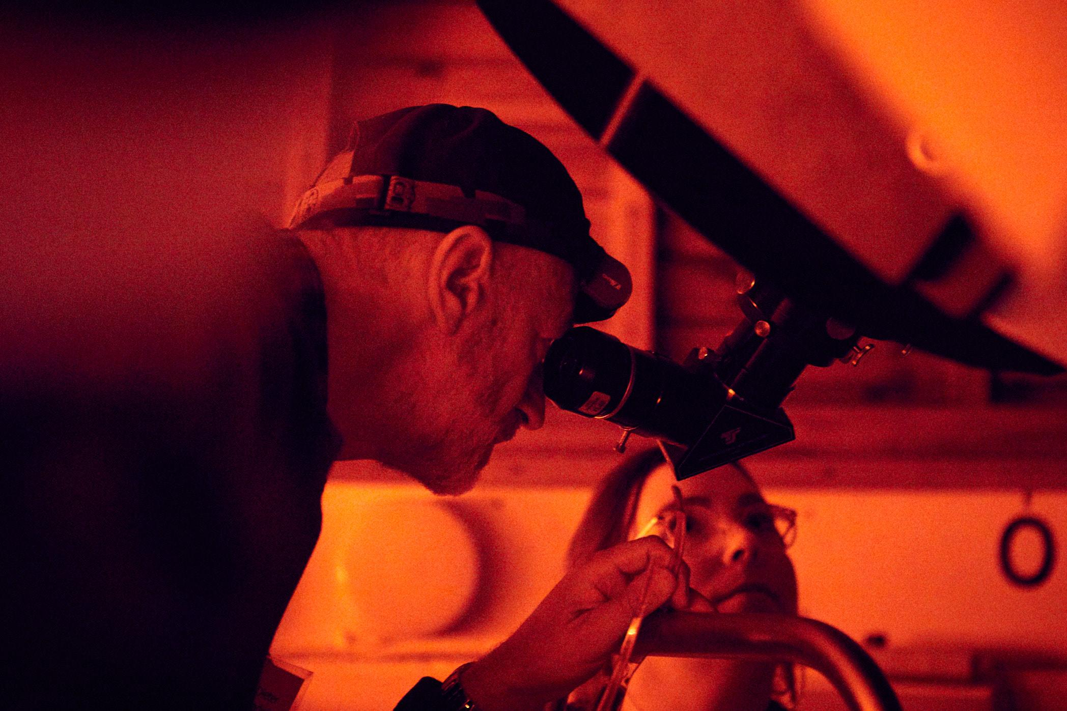 volkssternwarte köln teleskop jörn strojny